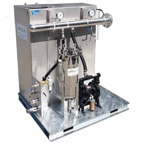 The Pneumatic Separator from Ultraspin