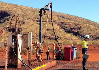 Oily water separators for mining applications