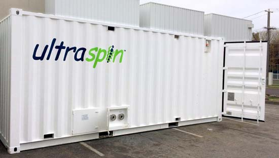 The Ultrapak rental option fully containerised and plug and play