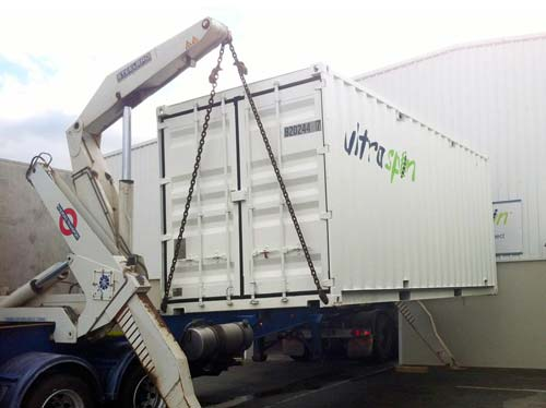 The Ultrapak oil water separation system for hire