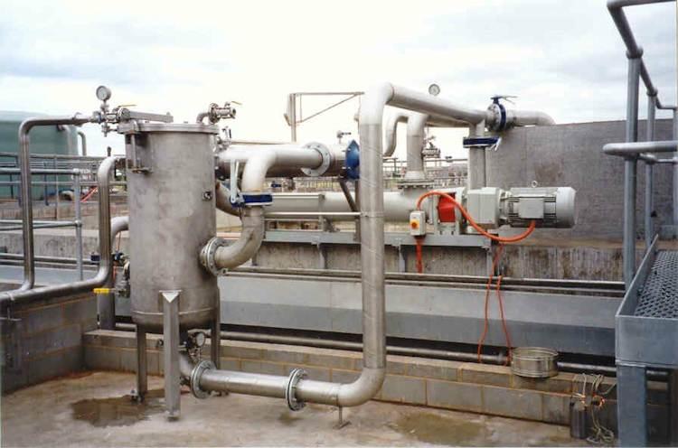Ultraspin 110 m3/hr Nestle Dairy Effluent Wastewater System