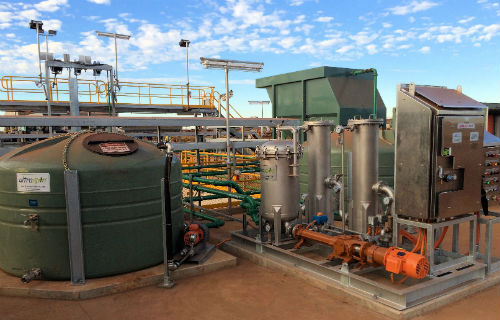 Oil water treatment system