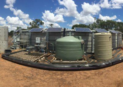 Solar unit at Arrow Energy