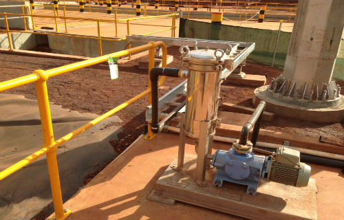 Oil recovery system - Whaleback