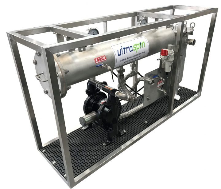 Oily Water Separator undergoing Factory Acceptance Testing