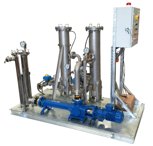 HD range of oily water separators for rental from Ultraspin