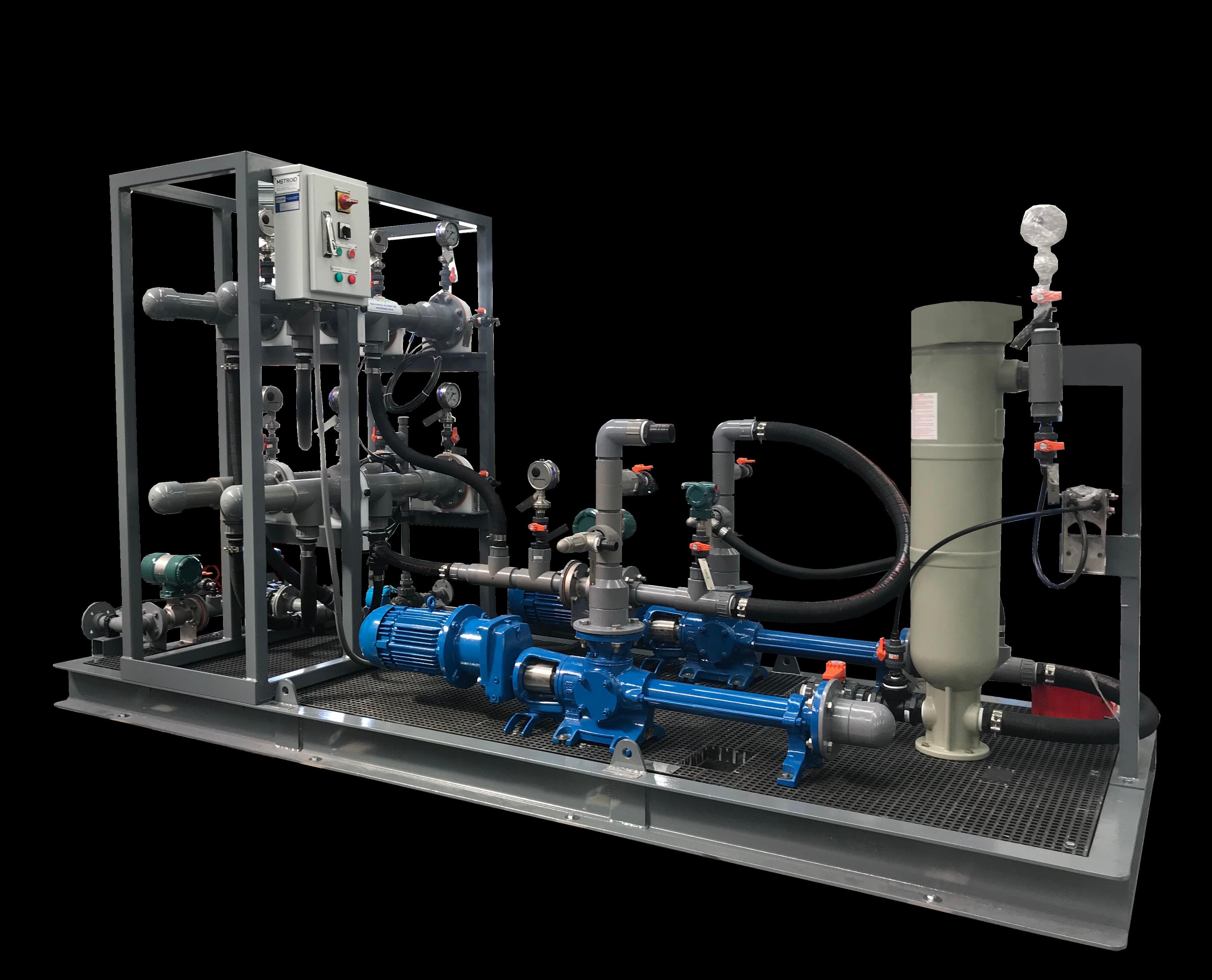 Oily Water Separator customised to treat salty bilge water