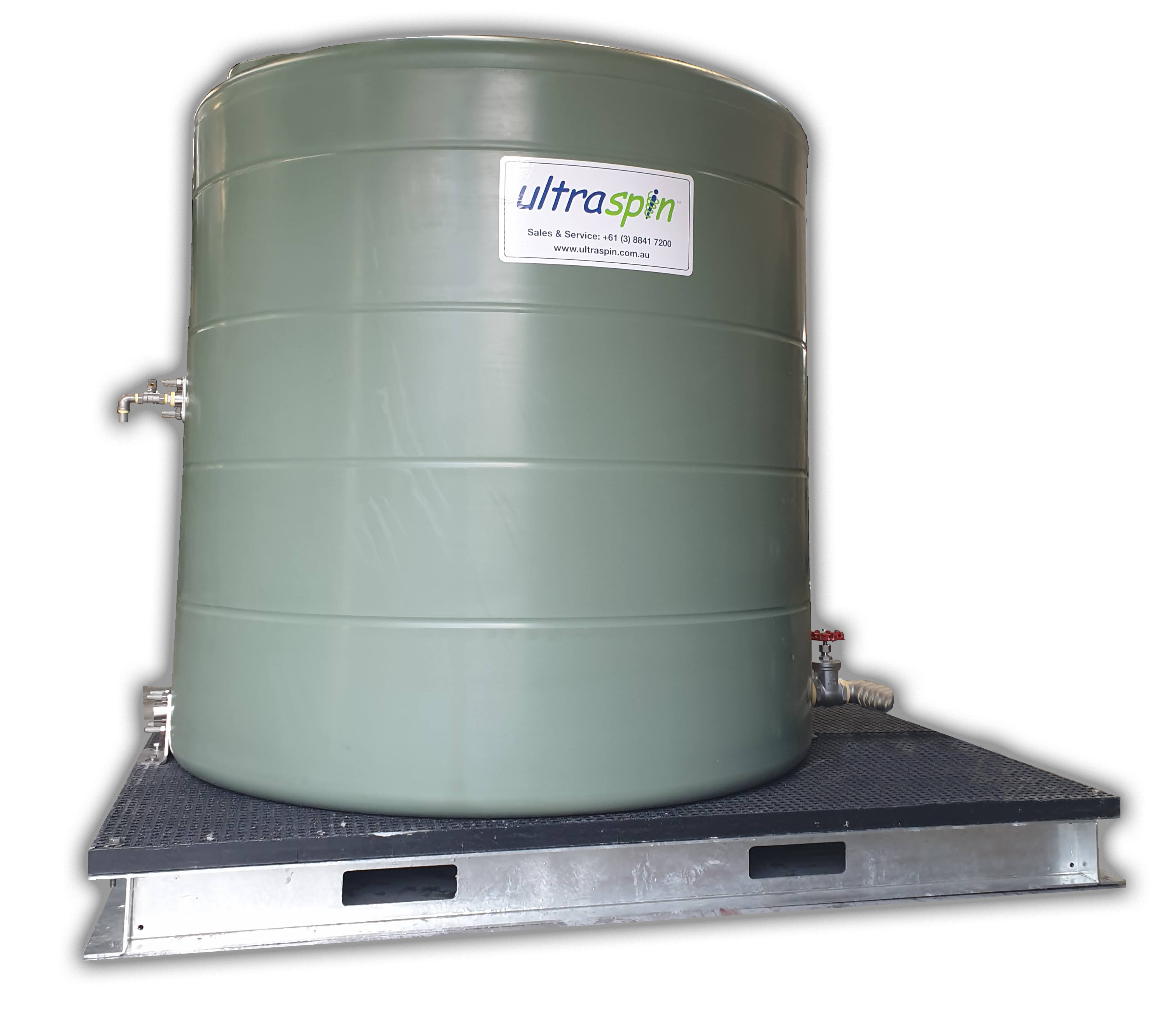 Stainless Steel Oil Collection Tank